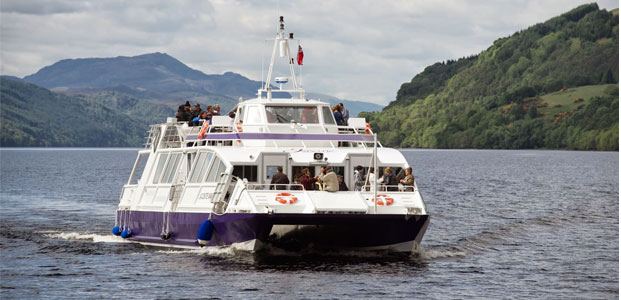 Jacobite Cruise Loch Ness