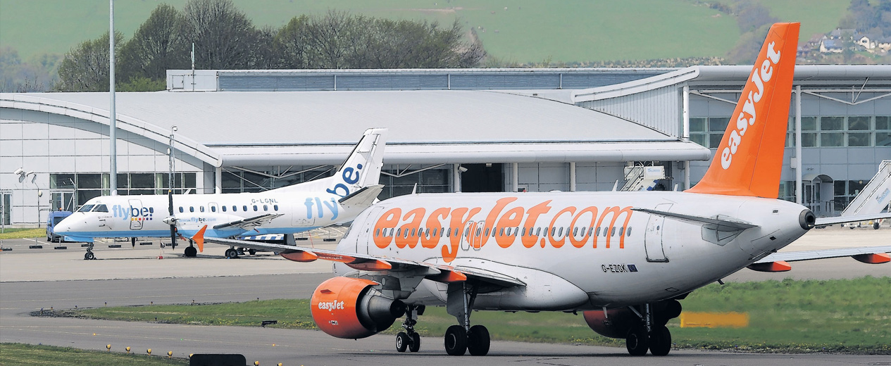 Travelling around Britain by plane
