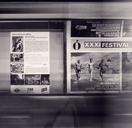 promotional opportunities: adverting on a noticeboard