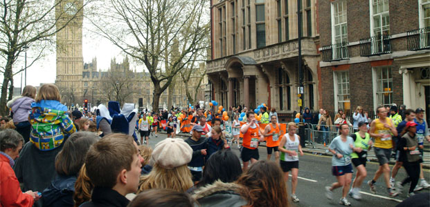 Marathon Virgin de Londres – Événement grand-public