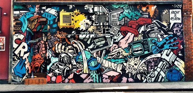 Upfest街头涂鸦艺术节 – 消费者活动