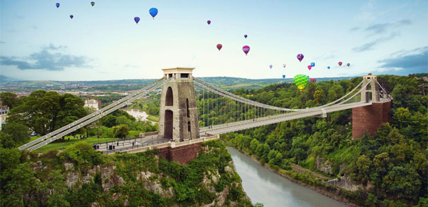 Bristol International Balloon Fiesta: evento per la clientela