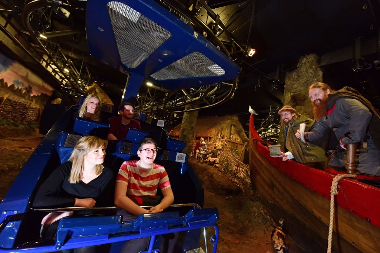 Experience-the-recreated-Coppergate-on-the-JORVIK-ride-experience-11