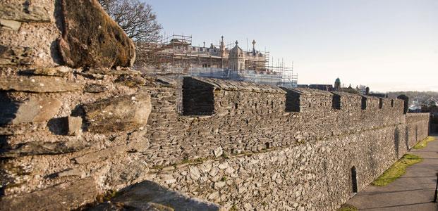 Londonderry-Derry city walls, Northern Ireland