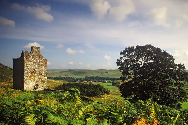 Kirkhope Tower, Scottish Borders, Scotland