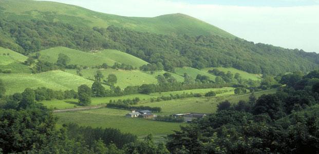 The Shropshire Hills, Shropshire, England