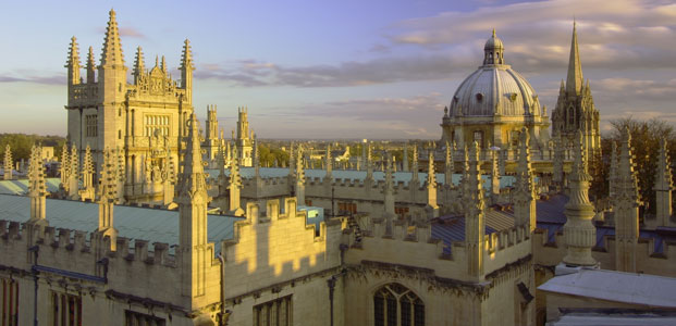 Oxford skyline, Oxford