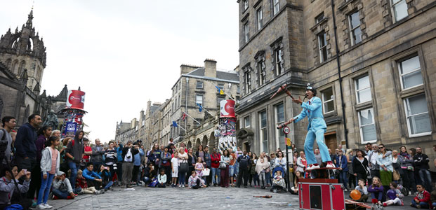Edinburgh's festivals, Edinburgh, Scotland