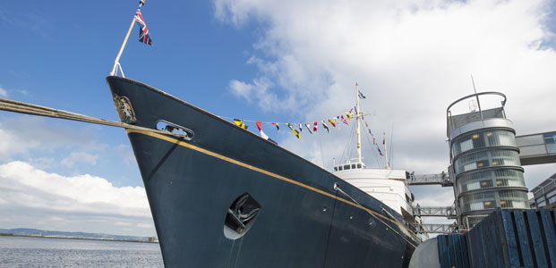 The Royal Yacht Britannia, Edinburgh, Scotland