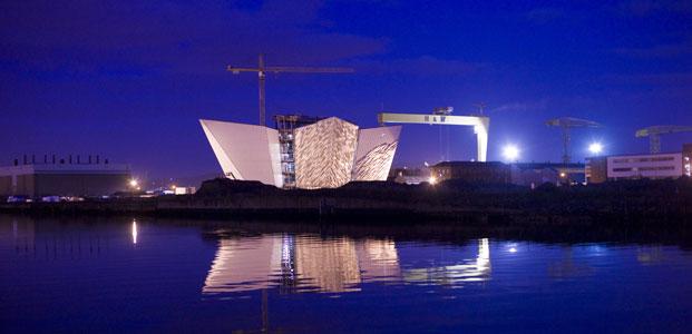 The Titanic memorial, Belfast