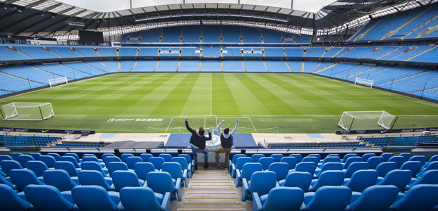 The Ethihad Stadium, Manchester