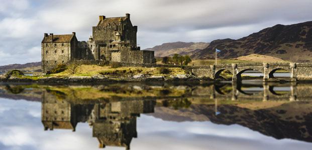 Eilean Donan Castle, Scottish Highlands, Scotland