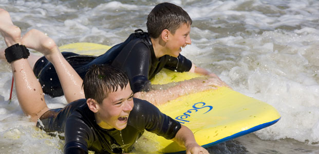 Surfing, Wales
