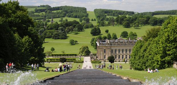 Chatsworth House, The Peak District