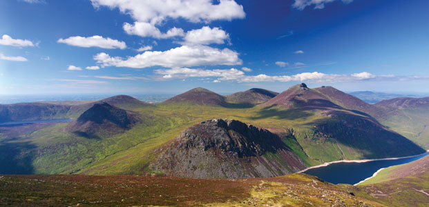 The Mourne Mountains, Northern Ireland