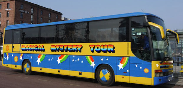 Magical Mystery Tour Liverpool North of England PSE