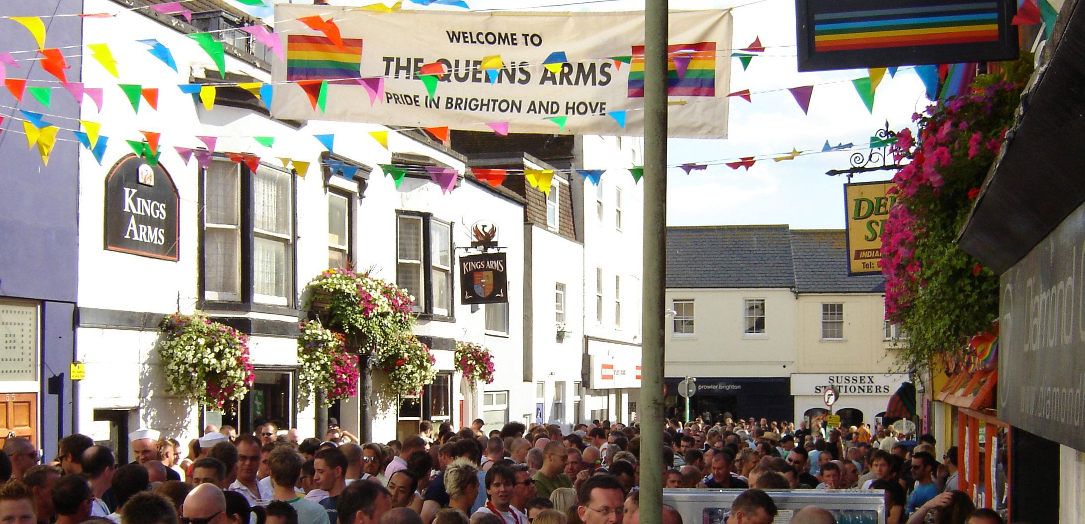 Brighton Pride – Evento per i consumatori