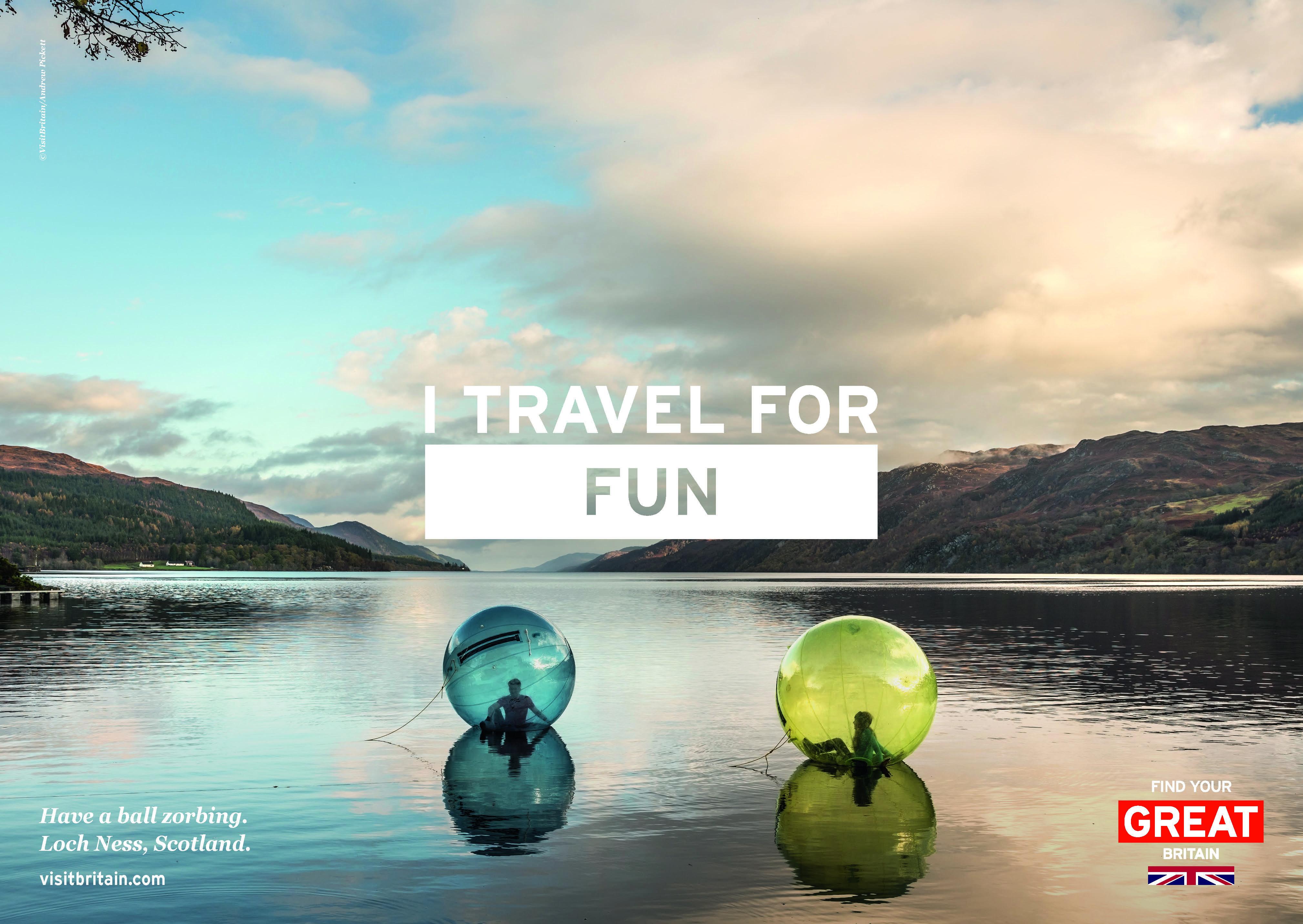 VisitBritain lance une nouvelle campagne mondiale pour dynamiser le tourisme réceptif – Nouvelle Campagne