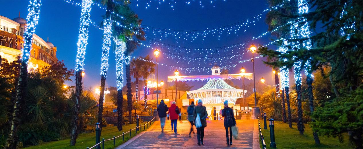 Copyright Bournemouth Tourism Bournemouth Christmas Tree Wonderland 1265x520