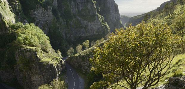 VB34131298 Cheddar gorge