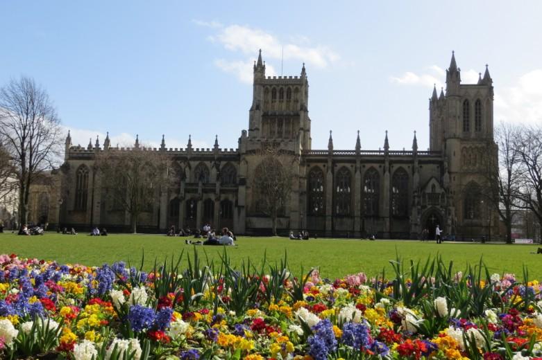 Bristol-Cathedral-with-flowers_CREDIT_Destination-Bristol