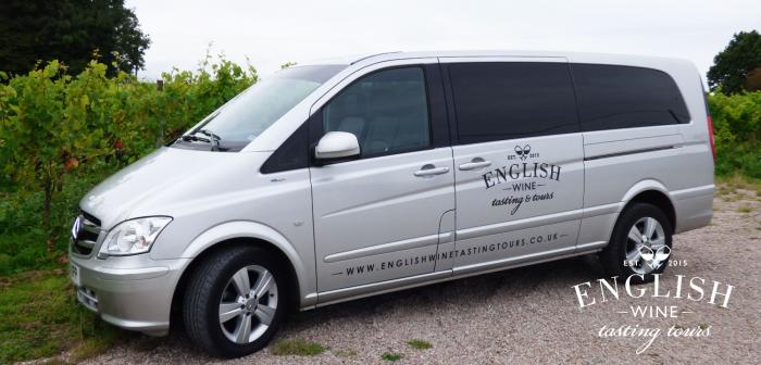 English wine tours minibus