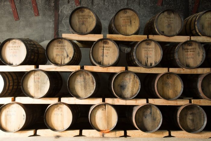 Cider brandy casks