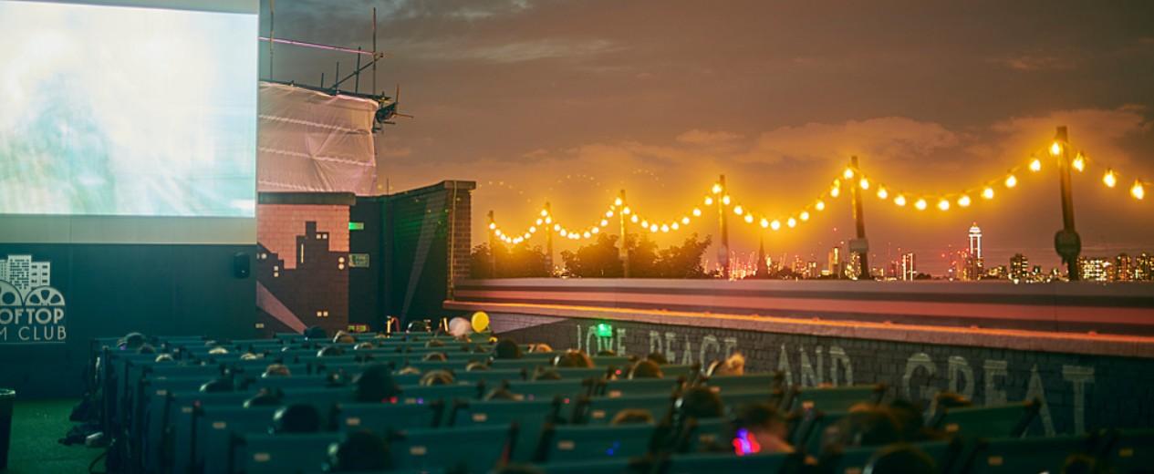 Rooftop Film Club, Bussey building, Peckham